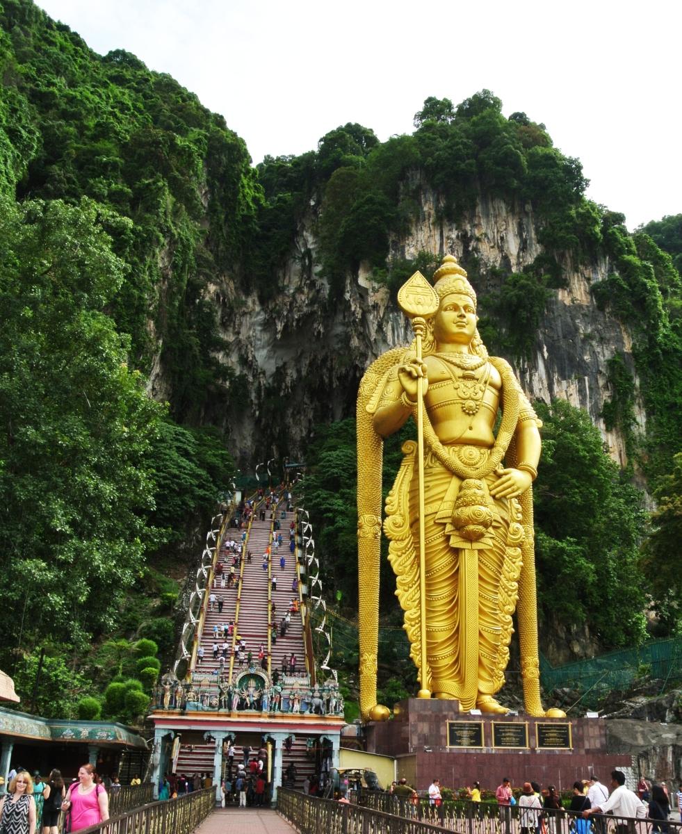 Malaysia Murugan: Travel Guide: Batu Caves In Kuala Lumpur Malaysia