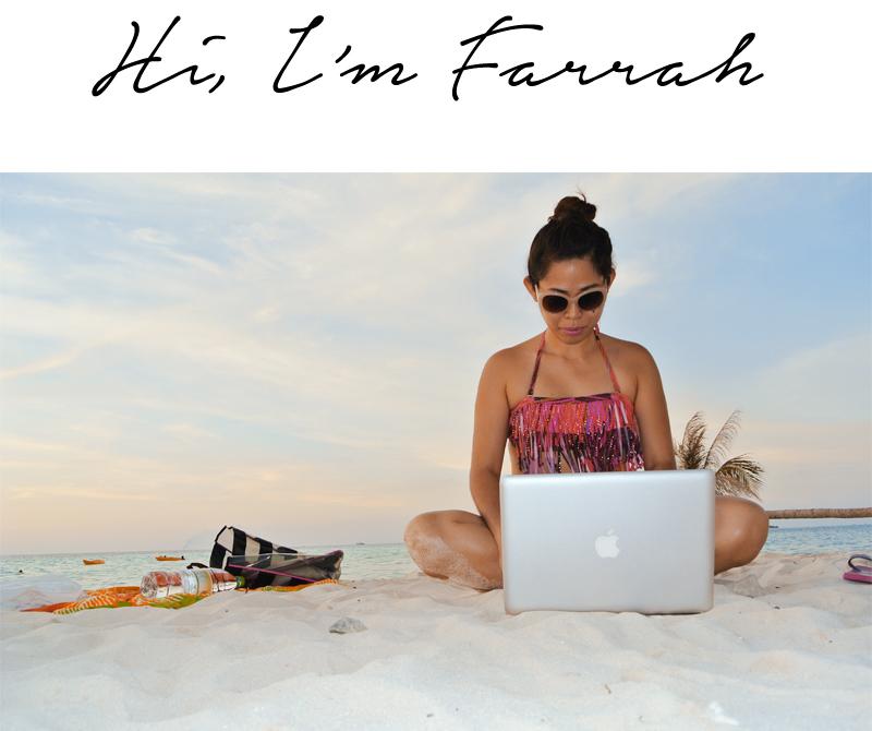 Hi, I'm Farrah!